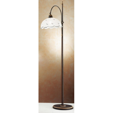 Kolarz Nonna Glass Floor Lamp Flowers