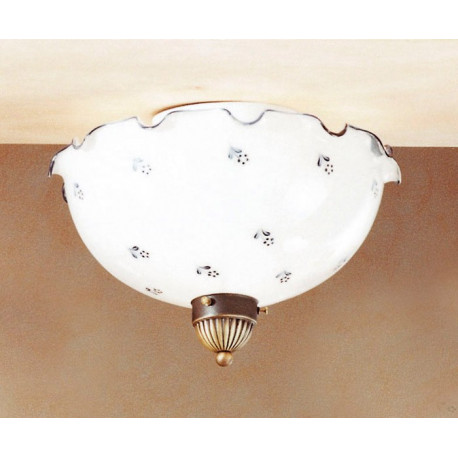 Kolarz Nonna Glass Ceiling Light Flowers