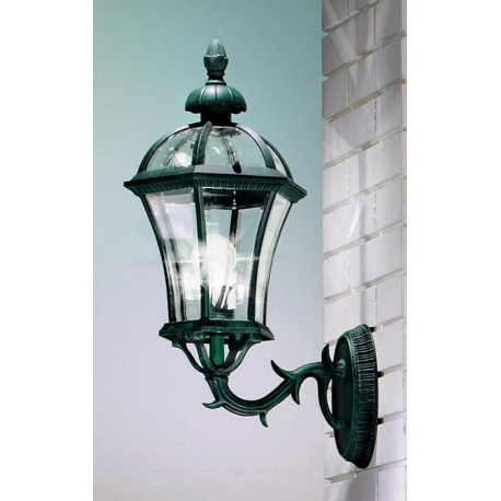 Kolarz Westminster Outdoor Wall Light Green