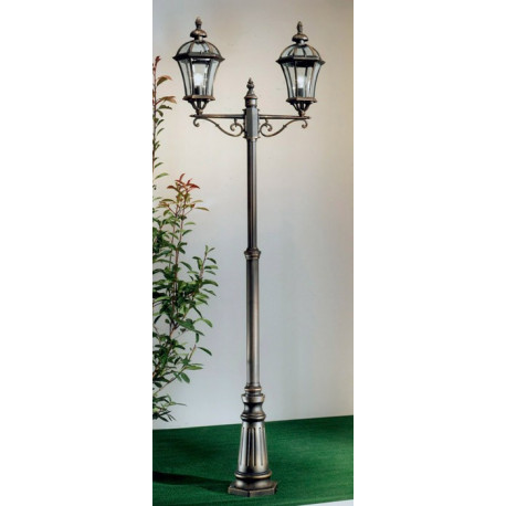 Kolarz Westminster Outdoor Floor Lamp Rusty Brown