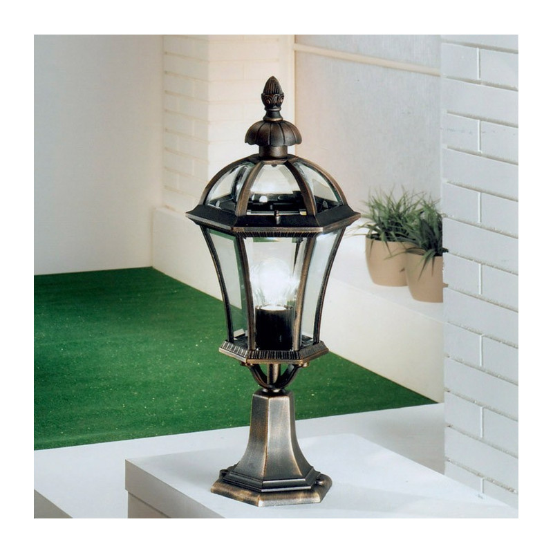 Kolarz Westminster Outdoor Table Lamp Rusty Brown