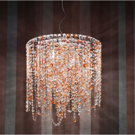 Masiero Impero and Deco Crystal S9 Pendant Light