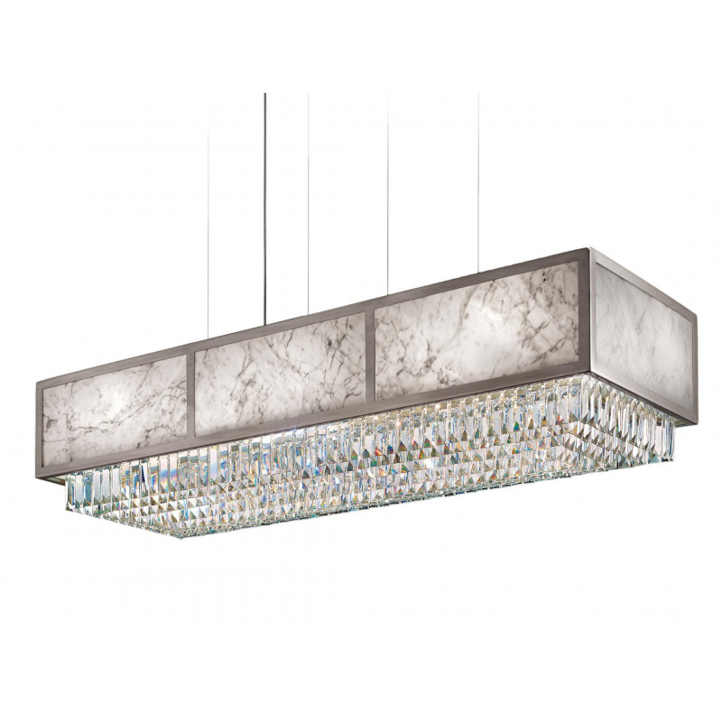 Masiero Impero and Deco Crystal Pendant Light