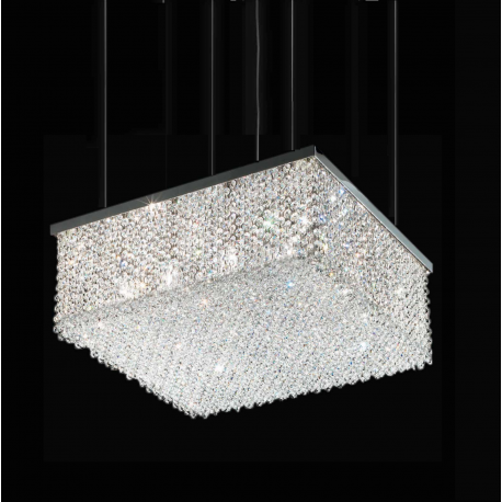 Cubo S/Square Crystal Suspension Lamp