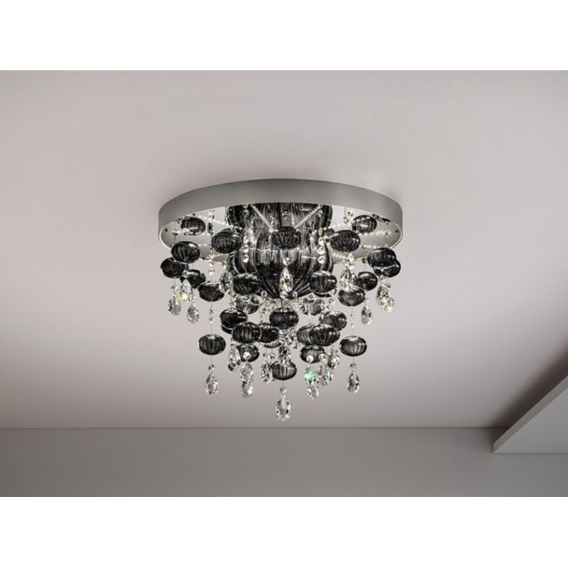 Masiero Globe Flush Ceiling Light