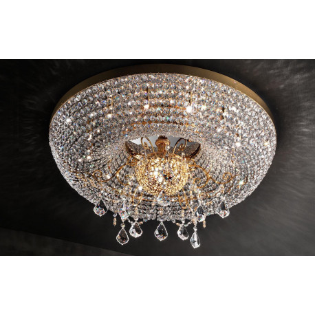Masiero Imperial Flush Ceiling Light