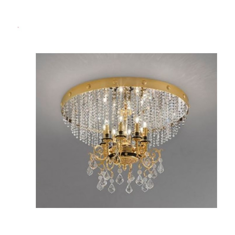 Masiero Odessa Flush Ceiling Light