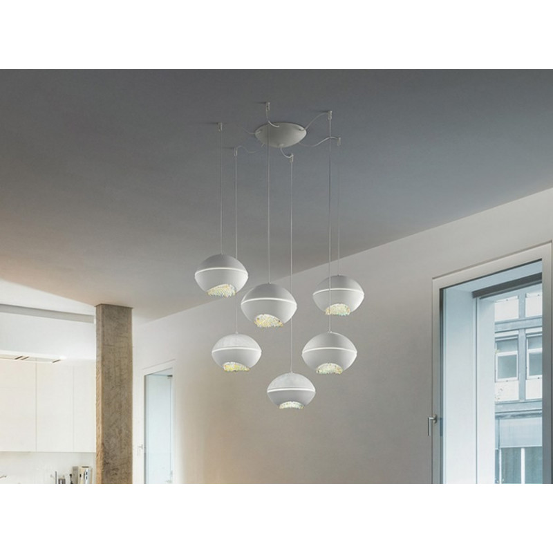 Masiero Blink Led Flush Ceiling Light