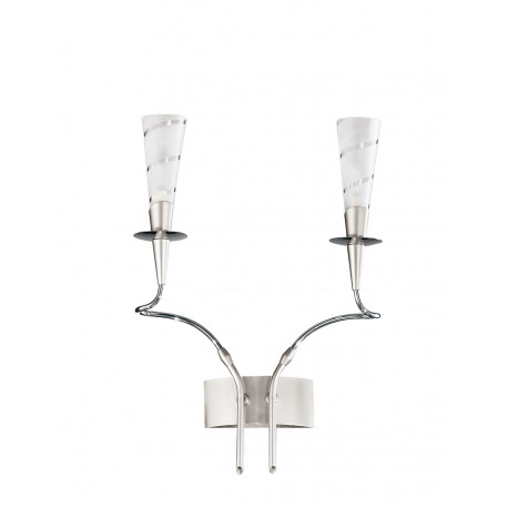Metal Lux Amleto Glass Wall Light