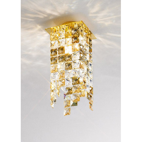 Kolarz Prisma Stretta Crystal Spot Light Gold