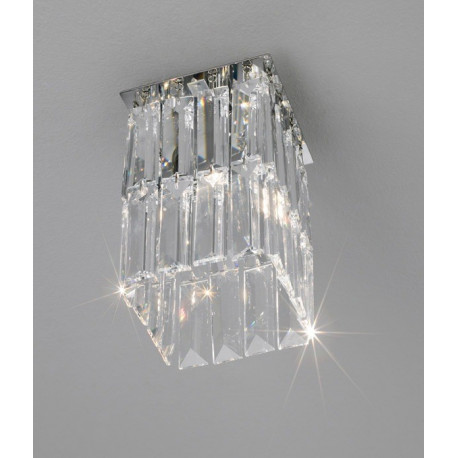 Kolarz Prisma Square Crystal Ceiling Light