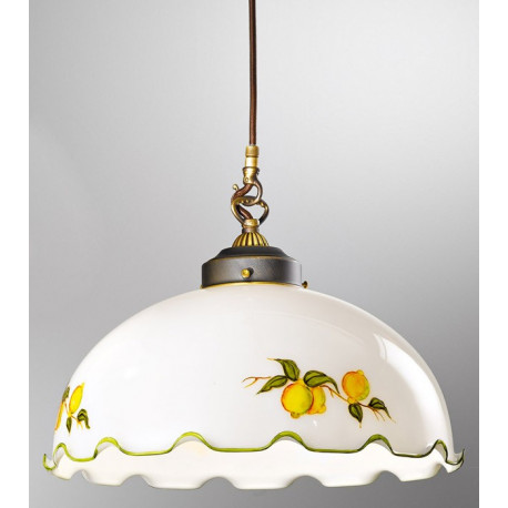 Kolarz Nonna Glass Hanging Light Lemons