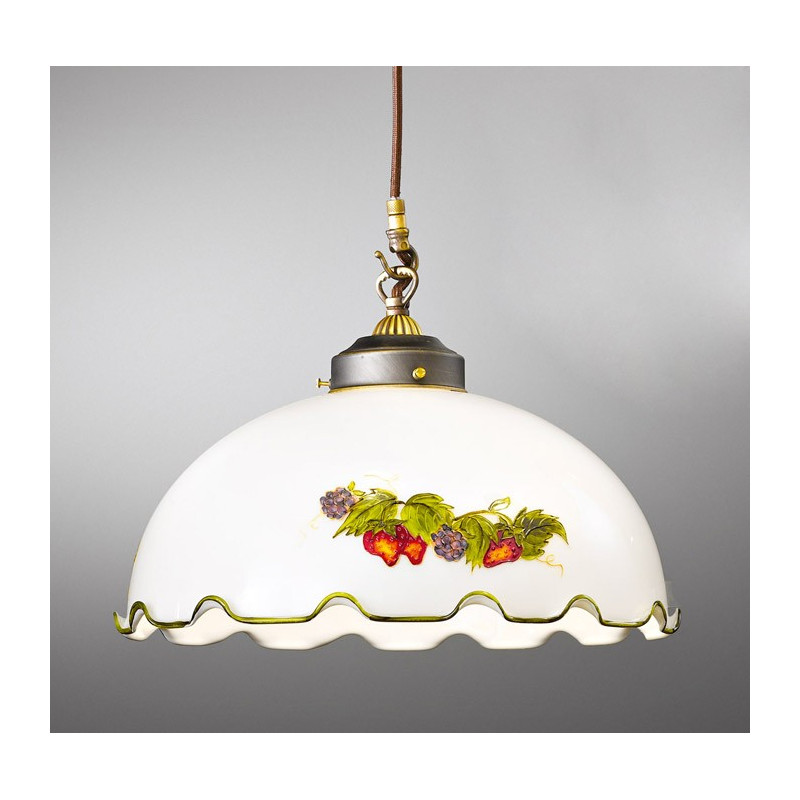 Kolarz Nonna Glass Hanging Light Fruits