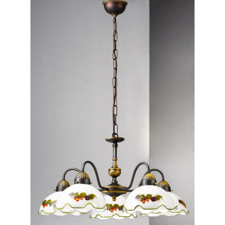 Kolarz Nonna Glass Chandelier Fruits