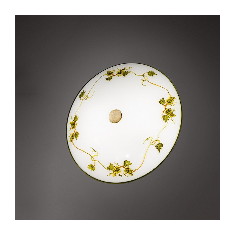 Kolarz Nonna Glass Ceiling Light Vine