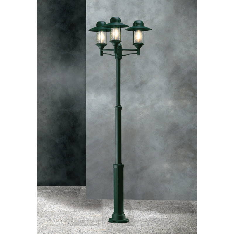 Garden Light Futura Color Lamp-post Green