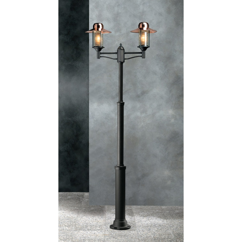 Garden Light Futura Cuprum Lamp-post Anthracite