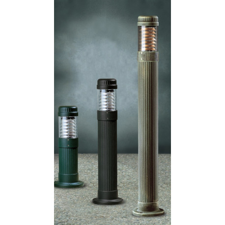 Garden Light Colonna Bollard Green/Gold