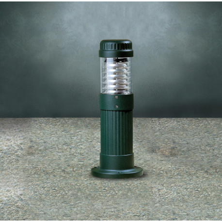 Garden Light Colonna Bollard Green
