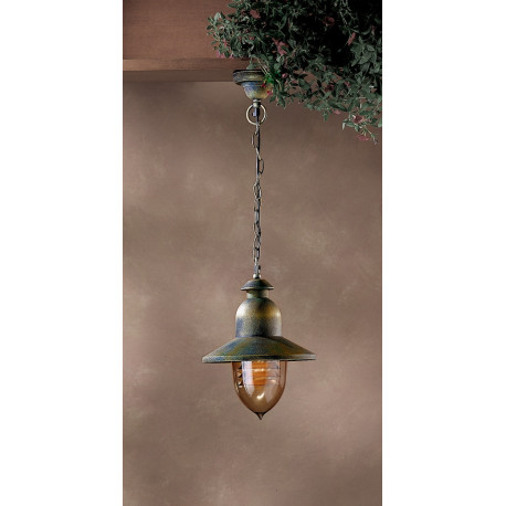 Garden Light Porto 90 Hanging Light Green/Gold