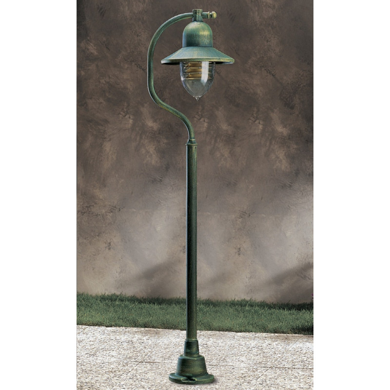 garden post. Garden Light Porto 90 Lamp-post Green/Gold Post P