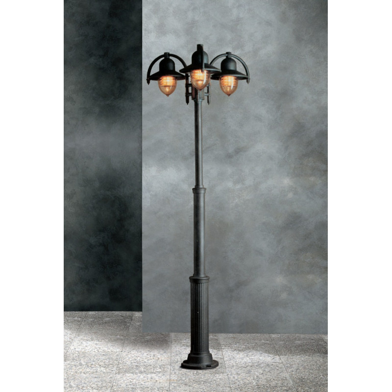 Garden Light Porto 180 Lamp-post Black