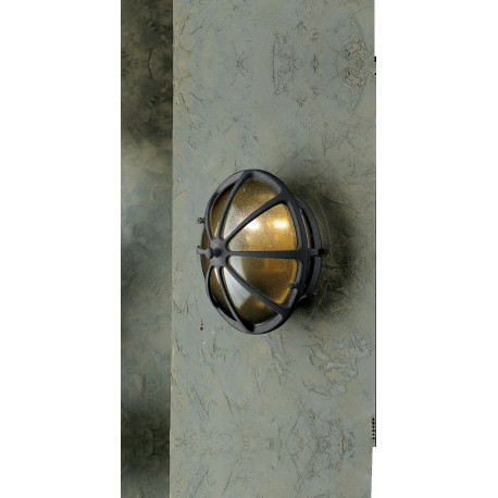 Garden Light Tondo Wall Light Anthracite