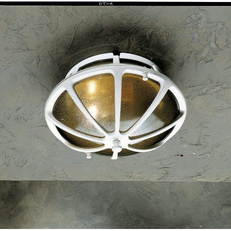 Garden Light Tondo Wall Light White