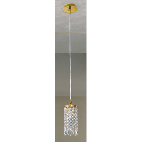 Kolarz Charleston Crystal Hanging Light Gold