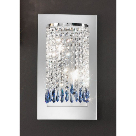 Kolarz Charleston Noblesse Crystal Wall Light
