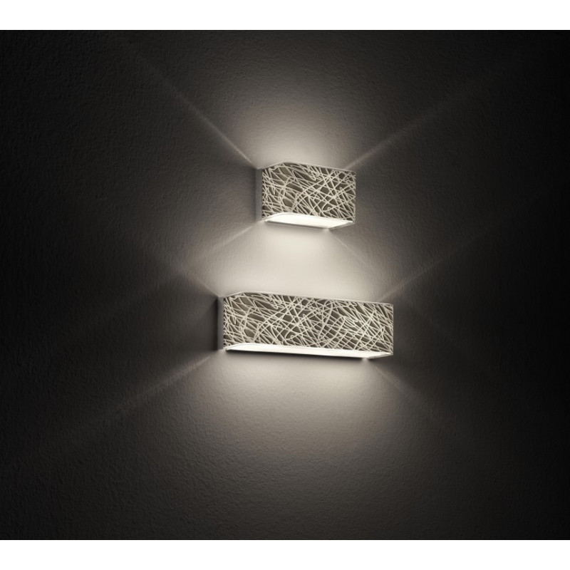 Leucos block glass wall light platinum lighting deluxe leucos block glass wall light platinum mozeypictures Image collections