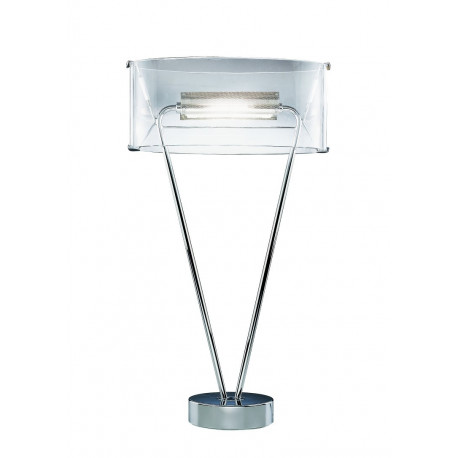 Leucos Vittoria Glass Table Lamp Clear