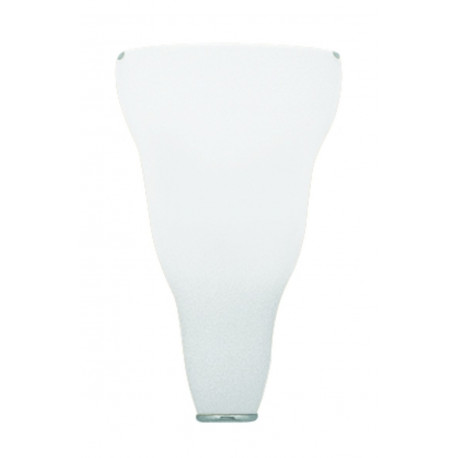 Leucos Vivia Glass Wall Light White