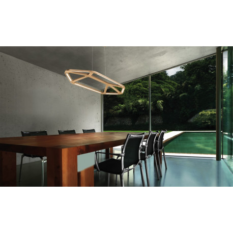 Leucos Aki Hanging Light Natural