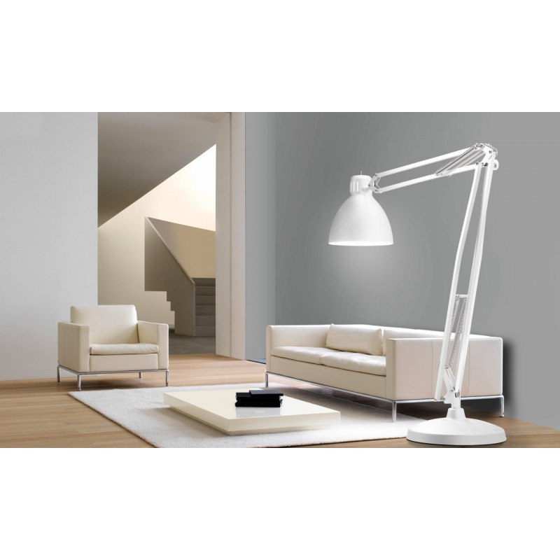 Leucos The Great JJ Floor Lamp Matt White