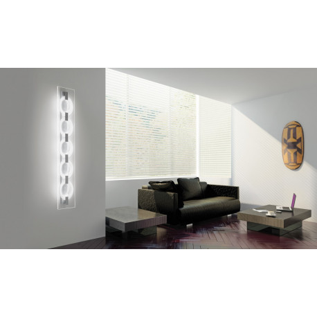 Leucos 0-sound Glass Wall/Ceiling Light