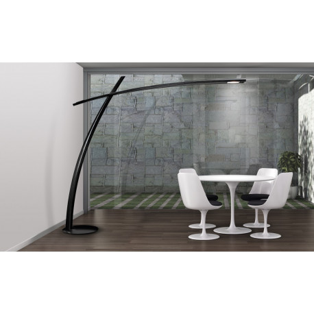 Leucos Katana Floor Lamp Black