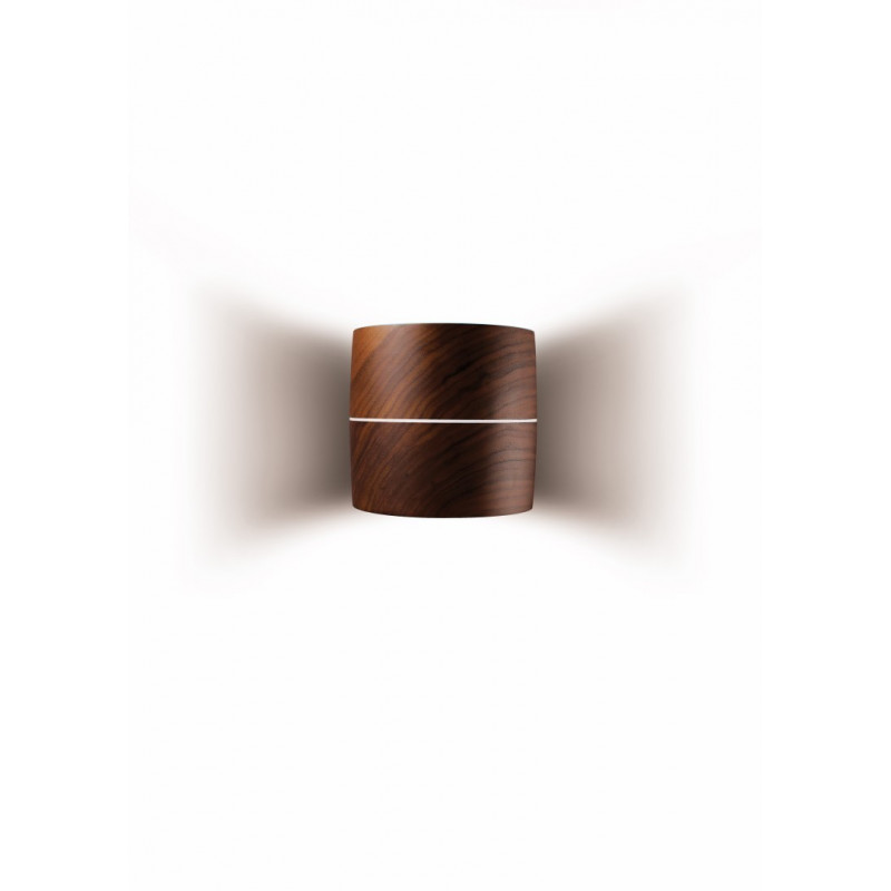 Leucos Wood Wall Light Walnut
