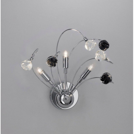 Kolarz Twister Rosy Glass Wall Light