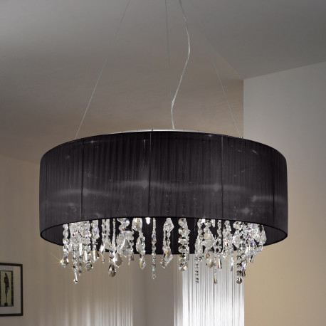 kolarz paralume crystal chandelier ceiling light white 0240 89 3 w free delivery. Black Bedroom Furniture Sets. Home Design Ideas