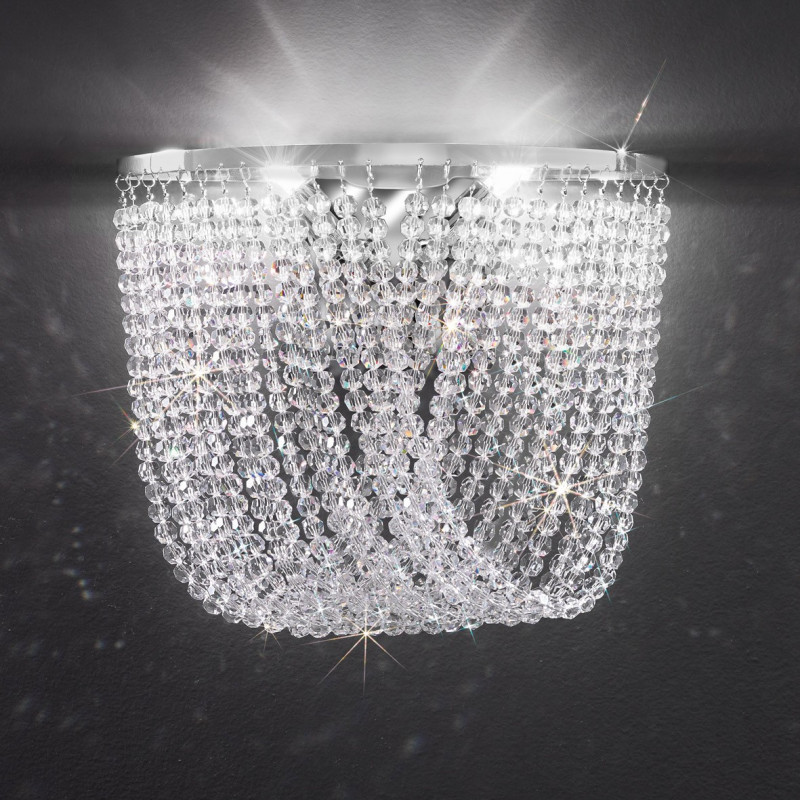 Cascade Crystal Wall Light Kolarz Lighting Lighting Deluxe