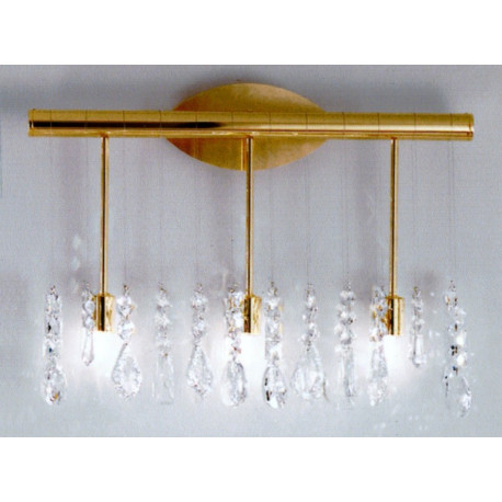 Kolarz Stretta Crystal Wall Light Gold
