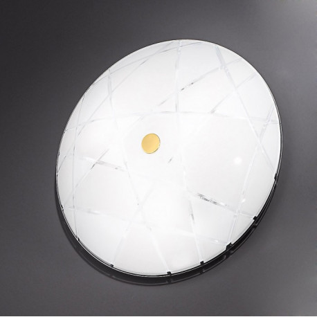 Kolarz Mikado Glass Ceiling Light Gold