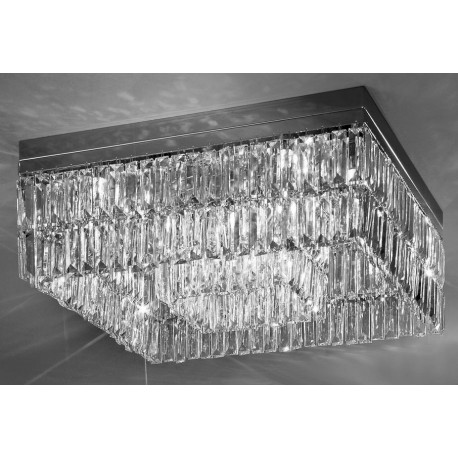 Kolarz Prisma Crystal Square Ceiling Light