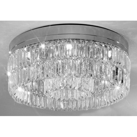 Kolarz Prisma Crystal Circular Ceiling Light