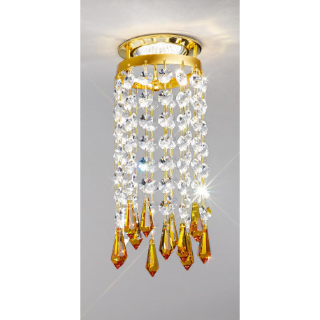 Kolarz Charleston Crystal Spot Light Gold