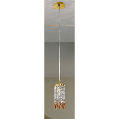 Kolarz Charleston Crystal Pendant Gold