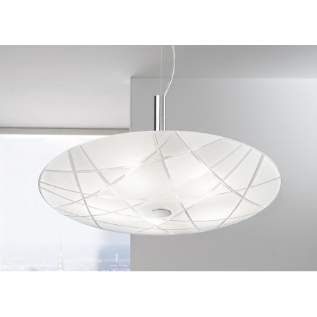 Kolarz Mikado Glass Pendant White