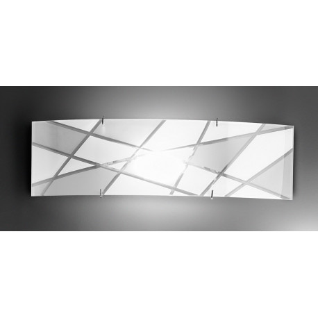 Kolarz Mikado Glass Wall Light White
