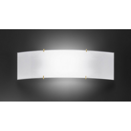 Kolarz Bianca Glass Wall Light Gold